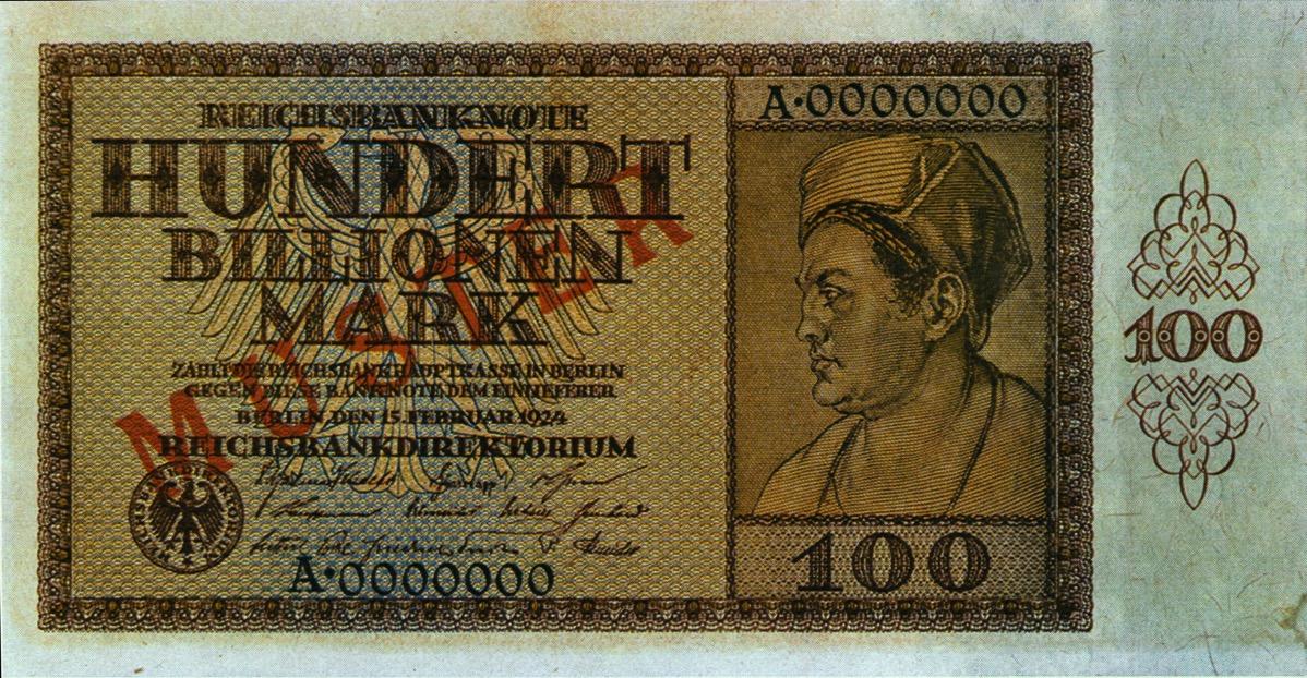 100 Billionen Geldschein